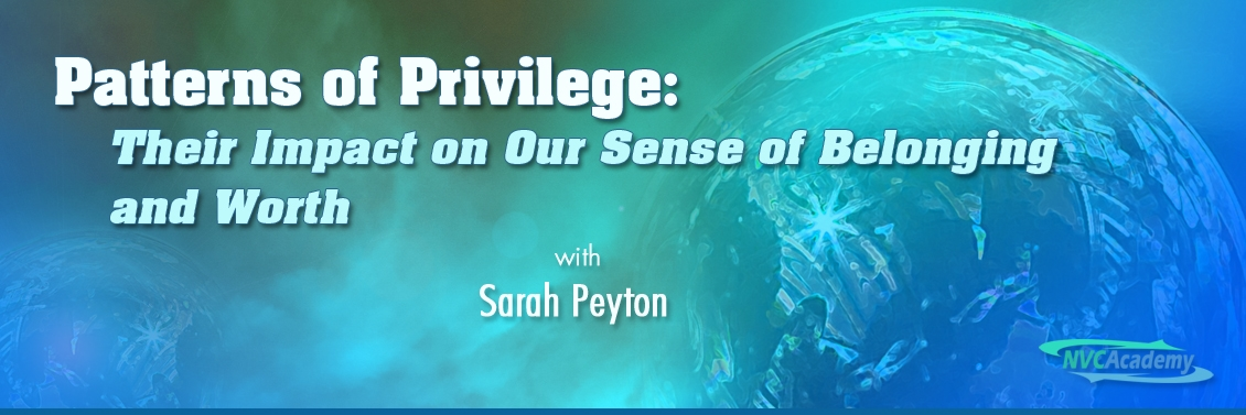 Patterns of Privilege: Their Impact on Our Sense of Belonging and Worth