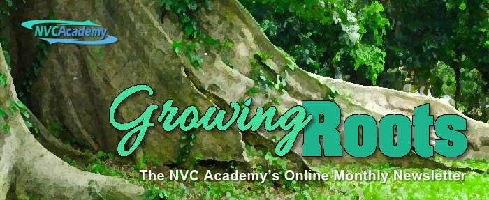 NVC Academy, Growing Roots. The NVC Academy's Online Monthly Newsletter.